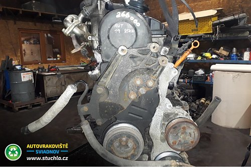 Autovrakoviste Sviadnov Motor AUY 1.9 TDI 85kw