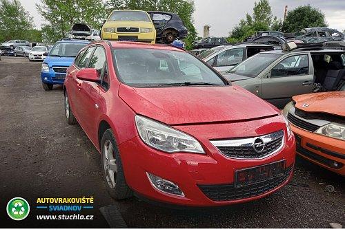 Autovrakoviste Sviadnov Opel Astra J 1.4 16V náhradní díly
